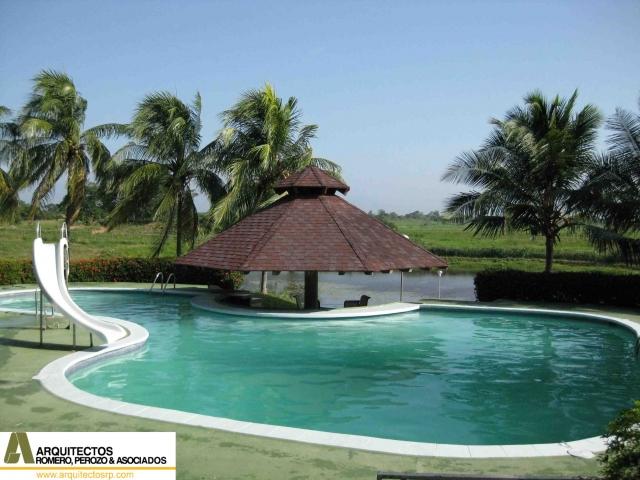 Bienvenidos a arquitectos rp for Casa de campo pequena con piscina